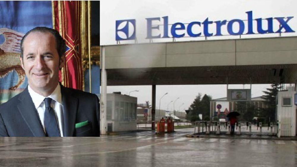 Electrolux appello governo di Zaia